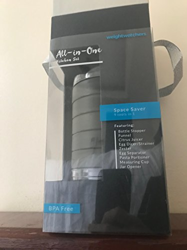 Weight Watchers Freestyle All in One Kitchen Set - 9 Tools in 1