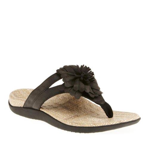 Vionic 40 Talia Eu Uk Black Con 9 Sandals Donna Us 7 Orthaheel rwqxzFrA