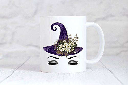 SAYOMEN - Witch Mug, Witch, Witch Gift, Witch Cup, Witch Lover Mug, Witch Coffee Mug, Witch Coffee Cup, Witch Gifts, Gift for Her,Halloween Mug,Wicked MUG 11oz -
