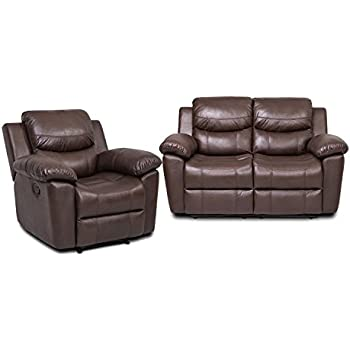 Amazon Com Juntoso 2 Sets Recliner Single Sofa And