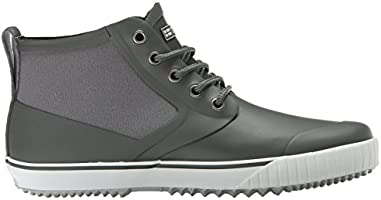 Tretorn Men's New Gunnar Rain Shoe, Gunmetal, 47 EU13 M US