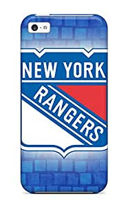 Awesome QaseXSN9896KZBRZ DanRobertse Defender Tpu Hard Case Cover For Iphone 5c- New York Rangers Hockey Nhl (26)