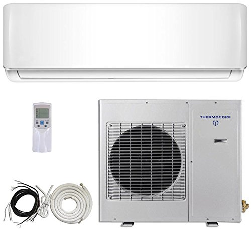 thermocore systems 16 seer 3 ton ductless mini split air conditioner system heat pump 36000. Black Bedroom Furniture Sets. Home Design Ideas