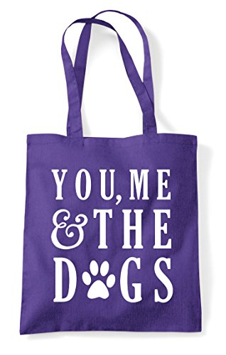 Statement Dogs The And Me Purple You Bag Tote Shopper HtqFInaxR