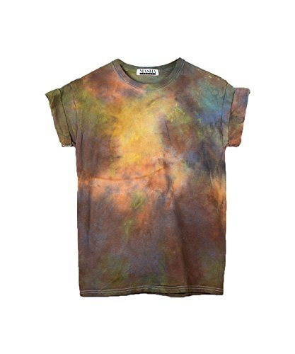 Burning Man Tie Dye Unisex T-Shirt Pattern Shirt short Sleeve Plus Size S, M, L, XL, XXL, -