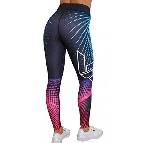 Amazon.com: Womens High Waisted Leggings Yoga Pants 3D ...