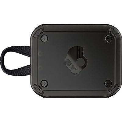 Skullcandy S7PCW-J583 Barricade Wireless Portable Speaker, Gray/hot lime