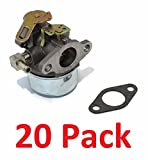 20 CARBURETORS for Tecumseh 632107 632107A TORO 521 Small Engine Mower Generator by The ROP Shop