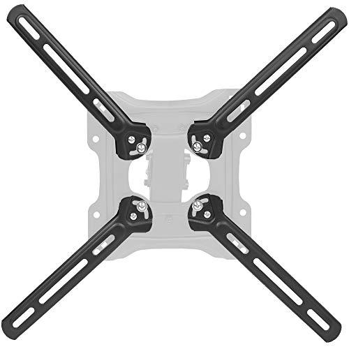 VIVO Steel VESA Mount Adapter Plate Brackets for LCD Screens | Conversion Kit for VESA 400x400mm (MOUNT-AD4X4) ()
