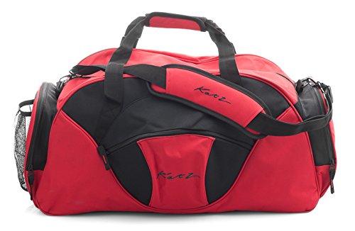 Girls Ladies Large Red And Black Dance Ballet Tap Kit Holdall Sports Bag KB83 Katz Dancewear Christmas Birthday