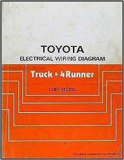 1987 toyota truck & 4runner wiring diagram manual original: toyota:  amazon.com: books  amazon.com