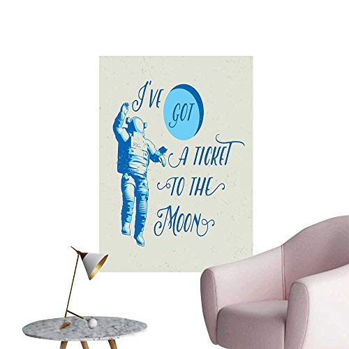 Used, Brandosn Astronaut Wall Sticker self-Adhesive Ive Got for sale  Delivered anywhere in USA
