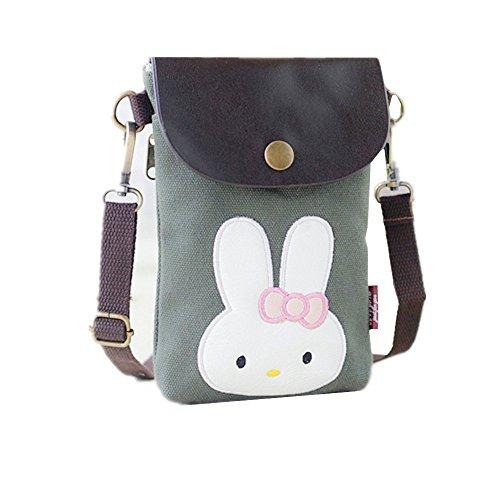 Sac porter Abyelike Rabbit à femme Green à pour l'épaule aZxfqdwfR