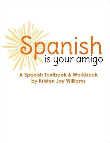 Amazon.com: Spanish Is Your Amigo (9781479134878): Kristen Joy ...