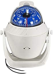 ITYAGUY Marine Compass LED Light Navigation Pivoting Electronic Automotive Compasses for Boat Car Truck