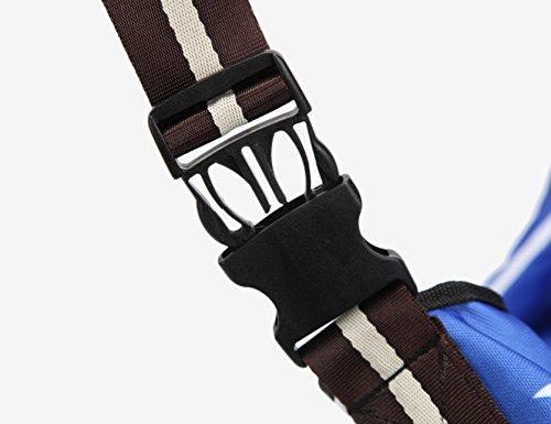 Sepnine 600D Oxford Pet Carrier Shoulder Bag With Extra Pocket for Cat Dog And Small Animals (L) by Sepnine (Image #6)