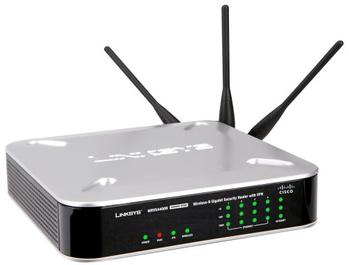 Linksys Wrvs4400n Wireless N Gigabit Security Router Vpn