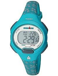 Timex Ironman Essential 10reloj tamaño mediano, Floral verde azulado
