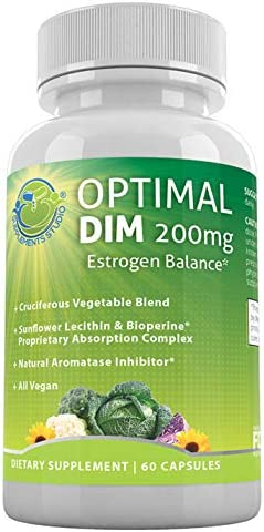 Optimal DIM Supplement 200mg Plus product image
