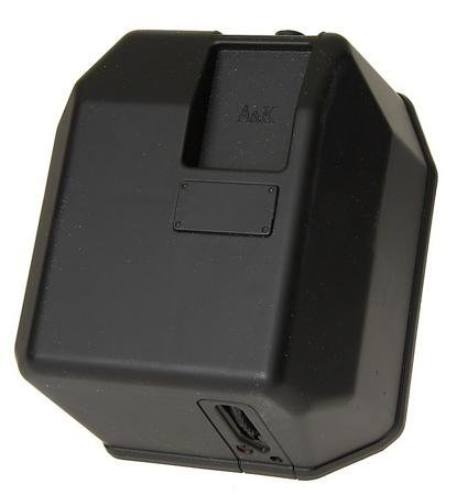 M-Series Box Airsoft Magazine - 5000 Round - Black