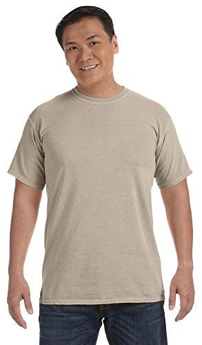 (Comfort Colors 6.1 Oz. Ringspun Garment-Dyed T-Shirt, Large, Sandstone)