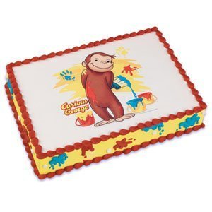 Curious George Baking Cakes