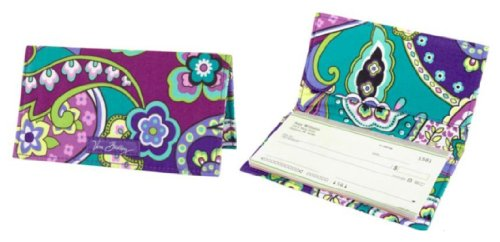 Vera Bradley Checkbook Cover - Vera Bradley Checkbook Cover in Heather