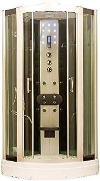 Plástico de vapor de mampara de super equipo de aluminio/verde/blanco: Amazon.es: Bricolaje y herramientas