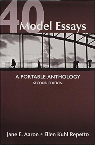 Amazon 40 model essays 2nd ed writing and revising jane e