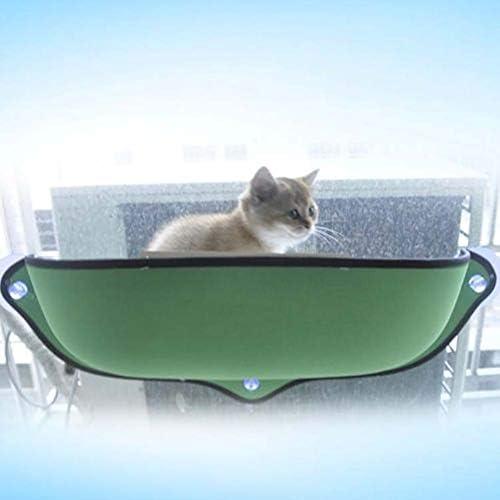 trespolo per Finestra con mensola da Appendere 26 kg Lumpur Amaca per Gatti per Lettino da casa Amaca per Gatti con Ventosa
