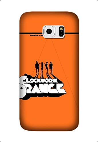 A Clockwork Orange Movie Hard Plastic Soft Rubber Edge Case For Samsung Galaxy S6 Edge Design By [Susan Williams]