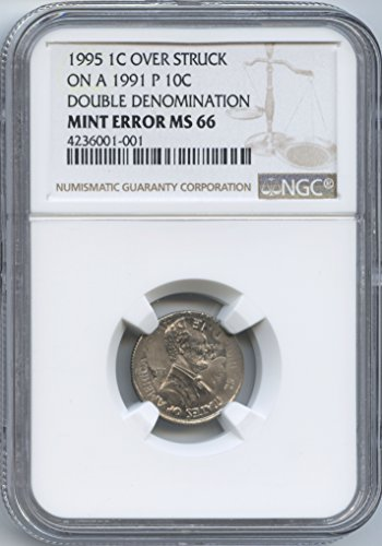 1995-p-lincoln-cent-over-struck-on-a-1991-p-roosevelt-dime-double-denomination-4-years-apart-ngc-ms-