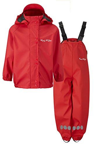 Kozi Kidz Kid's Essentials Fleece Lined Rain Set