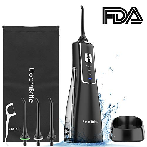 Water Dental Flosser Cordless - Rechargeable Or...