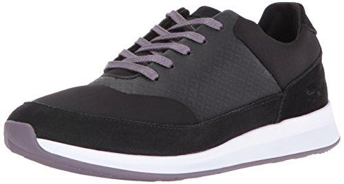 Lacoste Women's Joggeur Lace 416 1 Caw Fashion Sneaker, Black, 9 M US