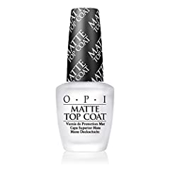 Add a little edge to your manicure with a matte finish. Looks great over darker shades like Lincoln Park After Dark, to lighter shades like Alpine Snow.