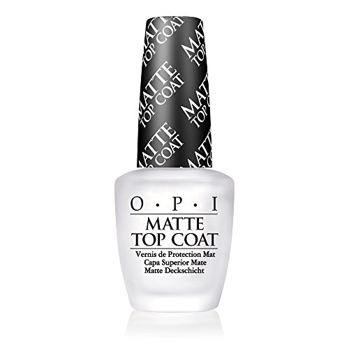 OPI Nail Lacquer Top Coat, Matte (Best Matte Nail Polish Top Coat)