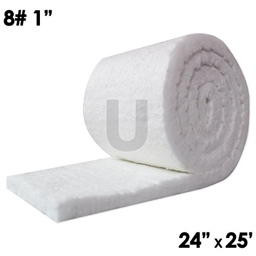 Unitherm Ceramic Fiber Insulation Blanket Roll 8