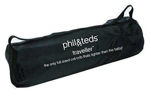 phil&teds Traveller Crib, Black