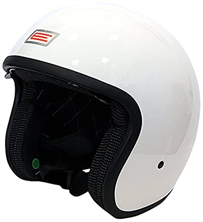 Origine Helmets 202537028101803 Sprint Rebel Star Open Face Helmets, White/Grey, Small H&H Sports Protection srl