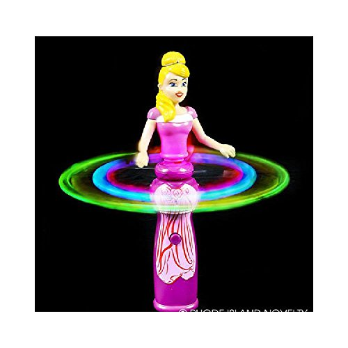 Light-Up Spinning Princess Doll Wand (With Sticky Notes)