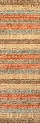 Momeni Rugs GRAMEGM-06MTI2680 Gramercy Collection, 100% Wool Hand Loomed Contemporary Area Rug, 2'6