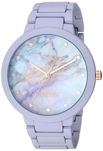 Nine West Women's NW/2274MALV Rubberized Lavender Bracelet ()