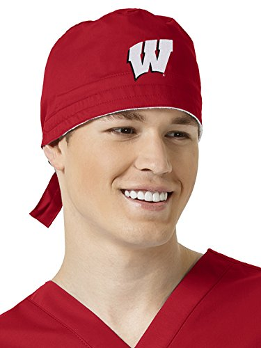 Texas Collegiate Scrub (Collegiate By Wonderwork Unisex Back Closure Scrub Hat University Of Wisconsin)