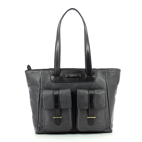 BORSA THE BRIDGE BLUES SHOPPER LARGE 0428472F 14 MARRONE