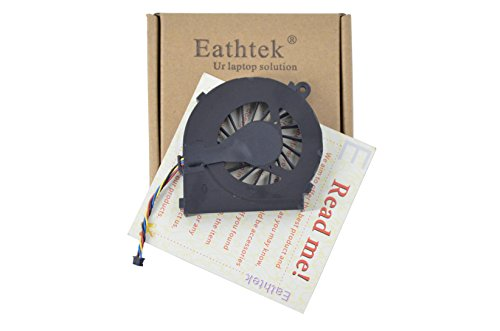 - Eathtek Replacement CPU Cooling Fan for HP Pavilion g4-1000 g6-1000 g7-1000 series, Compatible with part number MF75120V1-C170-S9A (Note:This fan is 4 wires. Not fit HP G6-2000 series laptop!)