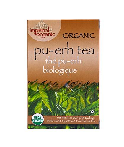 (Imperial Organic Tea, Pu-Erh, 18 Tea Bags,1.14 Ounce)