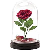 """Disney""""La Bella e la Bestia Rosa incantata Lampada, Multicolore"""