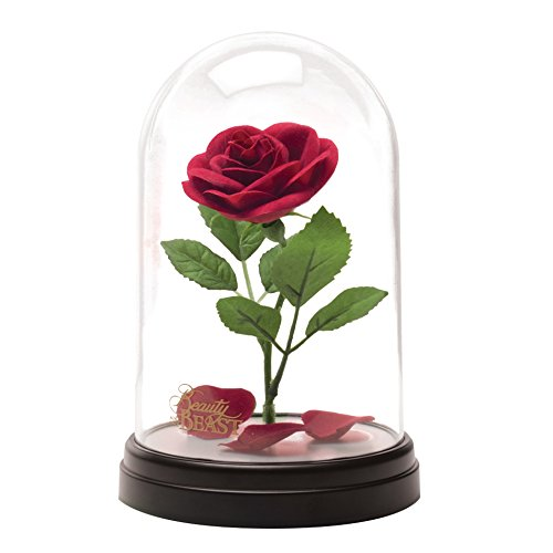 Beauty And The Beast Enchanted Rose Light Rose In A Glass Dome