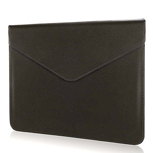 Laptop iPad Pro 10.5 Tablet Sleeve - HENGSHENG Water-resistant PU Leather Sleeve for MacBook Air 13 inch/MacBook 12 inch/iPad Pro 12.9 inch/Microsoft Surface Pro 2017/Netbook/Ultrabook - (10.2' Netbook Sleeve Case)